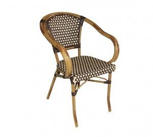 Chaise PARISIENNE avec accoudoirs