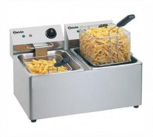 Friteuse pro électrique 2x8 litres