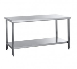 Table de travail inox 1400 - 1800 mm