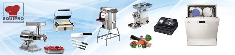 produits Equipro matière d'équipements professionnels